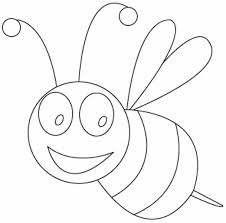 bee coloring pages preschool kindergarten