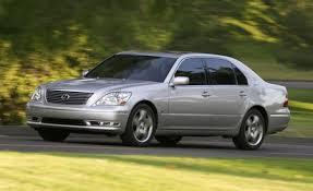 lexus ls 430 2004 lexus ls430 comparison tests comparisons car and driver