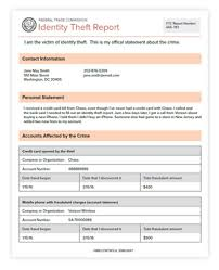 How To Make Fake Report Card - most id theft victims don u0027t need a police report consumer