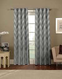 Gray And White Chevron Curtains by Door Gray Chevron Curtain Best Curtains Design 2016