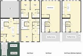 3 story townhouse floor plans 2 story townhouse house plans fresh marvellous 6 3 storey home