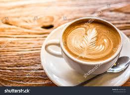 Beautiful Coffee Cups Cup Latte Art Coffee Spoon Plate Stock Photo 440798329 Shutterstock