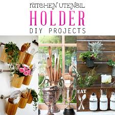 kitchen utensil holder ideas kitchen utensil holder diy projects the cottage market