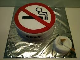 happy everything sign tummy of no sign cake