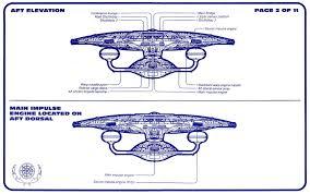 Uss Enterprise Floor Plan by Star Trek Uss Enterprise Ncc 1701 D Blueprints Schematics