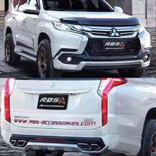 All New Pajero Sport List Kap Mobil Depan Molding Chrome bodykit all new pajero rbs macam2 bodykit carbon fiber mobil