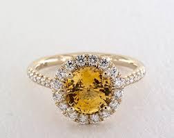 yellow engagement rings yellow sapphire engagement rings jamesallen