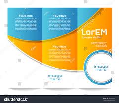 100 3 column brochure template 2 sided brochure templates