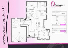 plan maison rdc 3 chambres plan maison 120m2 avec etage génial plan de maison plain pied 3