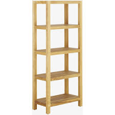 Bathroom Shelf Unit Palena Wood Large Bathroom Shelving Unit Polyvore