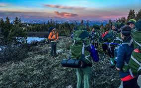 sawatch range alpine backpacking outward bound
