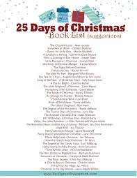 25 days of christmas books christmas countdown