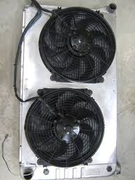 5000 cfm radiator fan electric fans aluminum radiators real lowdown chevelle tech