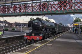scottsman guide route revealed for flying scotsman as it prepares to u0027fly u0027 through