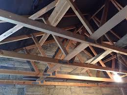 truss rafters roof garage workshops in huddersfield west