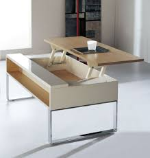 white space saver table coffee table space saving coffee tables lovely transforming table