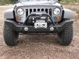 jeep wrangler front bumper garvin g2 series front bumper 07 11 jeep wrangler jk full width