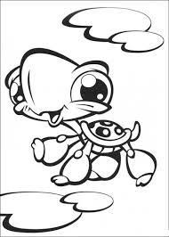 littlest pet shop coloring pages color free laura