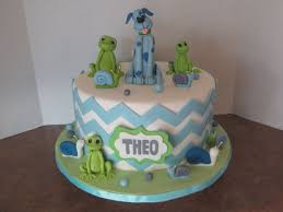 frog themed baby shower frogs snails and puppy dog tails baby shower cake chevron