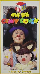 comfy couch amazon com the big comfy couch i keep my promises vhs alyson