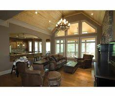 Vaulted Ceiling Open Floor Plans I Love The Vaulted Ceilings And Natural Sunlight Dream Home