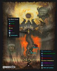 Map Of The Dead Darksiders Ii Book Of The Dead Pages Stones Gnomes And