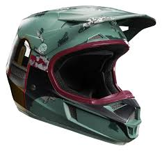 fox racing motocross gear fox racing youth v1 boba fett le helmet cycle gear