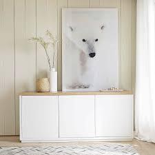 Wohnzimmer Durchgangszimmer Einrichten Anrichte Aus Massiver Eiche Austral Wohnen Pinterest