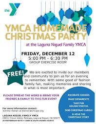 south shores church dana point ca u003e ymca homemade christmas party