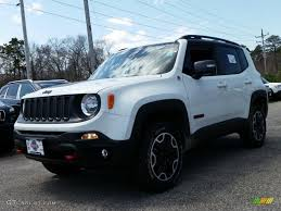 jeep renegade trailhawk blue 2015 alpine white jeep renegade trailhawk 4x4 103323230