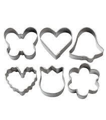 mini metal cookie cutter set 6pc joann