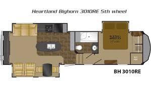 heartland 5th wheel floor plans bighorn 5th wheels by heartland rv