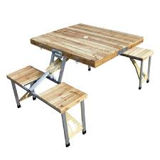 Folding Table And Chair Sets Attractive Folding Table Chair Set Pine Wood Folding Table One