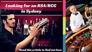how to get how to get your rsa and or rcg in sydney
