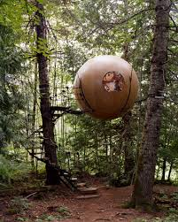 free spirit spheres by tom chudleigh treehouse vancouver island