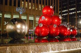 Large Christmas Tree Ornaments Outdoor by Giant Christmas Tree Ornaments Outdoor U2013 Outdoor Christmas Ball