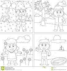 seasons coloring sheets preschoolers murderthestout
