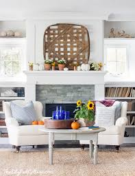 eclectically fall home tour the lilypad cottage