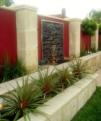 Wall Garden Planter by Outdoor Wall Water Features Limestone Planters Garden Wall And