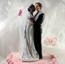 figurine mariage mixte de mariés mixte femme couleur l arbre à bonbons