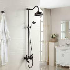 Shower Faucet Oil Rubbed Bronze Luxury Cross Handle Oil Rubbed Bronze Outdoor Shower Faucets