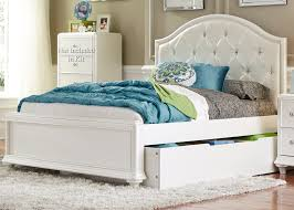 Trundle Bed Twin Trundle Bed With Tufted Headboard By Liberty Furniture Wolf