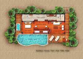 Oceanview House Plans by Ocean View Pool Villa Santhiya Koh Yao Yai