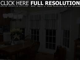 dining room with french doors door decoration