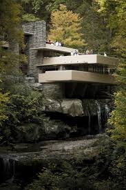 house built over waterfall james bonds evil enemy probably lives