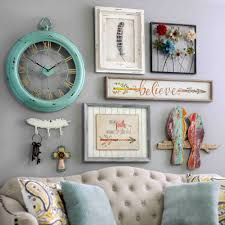 Oval Office Clock by Bring A Shabby Chic Charm To Your Home By Adding Pieces Of Wall