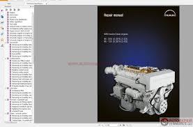 Man Marine Diesel Engine R6 800 D2876 Le423 R6 730 D2876 Le433