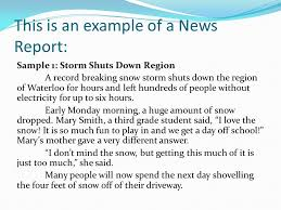 news report template how to write a news report template fieldstation co
