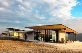 Vineyard Home Decor by Bar Architects U0027 Law Winery Blends Seamlessly Into The Paso Robles