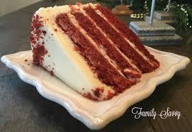 red velvet cake from ashley mac u0027s family savvy